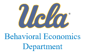 Ucla Behavioral Economics Department